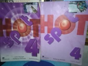 Hot Spot 4 - Student S Book & Activity Book - Macmillan