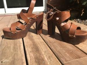Zapatos de taco