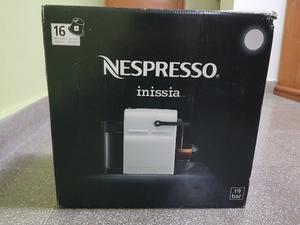 Cafetera Nespresso Inissia Color Blanca, Modelo C40-AR-WH-NE