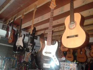 Venta de instrumentos guitarras electricas,bajos,criollas