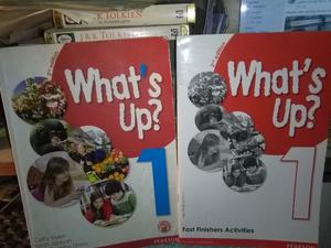 What´s Up? 1 Student´s Book + Workbook - 2nd Edition