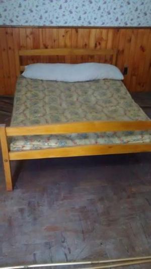 vendo cama de 2 plazas en buen estado oportunidad