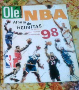 Album de figuritas NBA completo buen estado