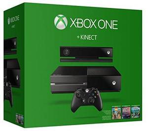 Consola De Xbox One 500gb Y Kinect S/auriculares Y