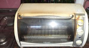 HORNO ELECTRICO BLACK AND DECKER USADO REMATO $800