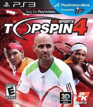 JUEGO PS3 TOP SPIN 4