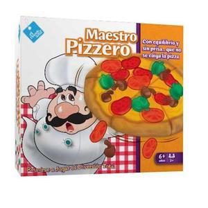 Juego De Mesa Maestro Pizzero - El Duende Azul