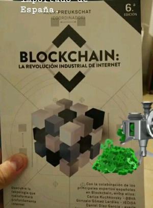 Libro la revolución industrial de internet. #blockchain