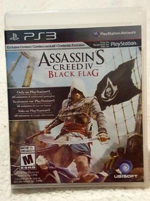 Assassins Creed 4 Black Flag Físico PS3 Play4Fun