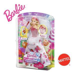 Barbie Dreamtopia Princesa Destellos Dulces Original Mattel
