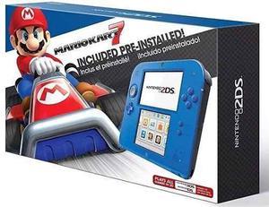 Consola Nintendo 2ds Mario Kart 7 Preinstalado Nueva