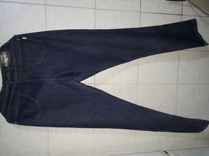 Jeans elastizado color azul