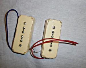 MICROFONOS P90 + PERILLAS ACRILICAS
