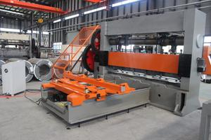 Metal desplegado maquina linea produccion