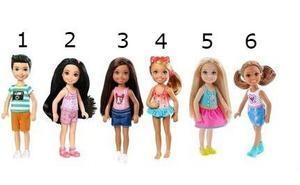 Muñeca Barbie Chelsea Club Kelly Original Mattel Nuevas