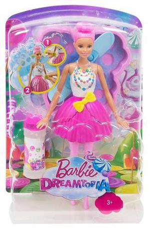 Muñeca Barbie Dreamtopia Hada Burbujas Mágicas Mattel