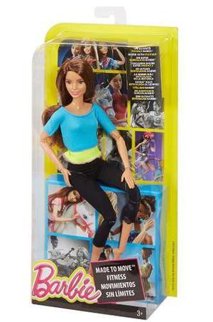 Muñeca Barbie Made To Move Yoga / Totalmente Articulada