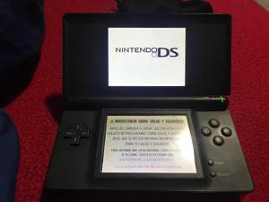 Nintendo Ds Lite Con 5 Juegos En Perfecto Estado