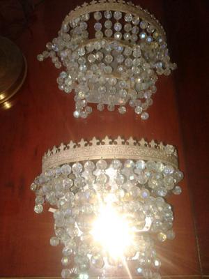 Apliques antiguos cristal