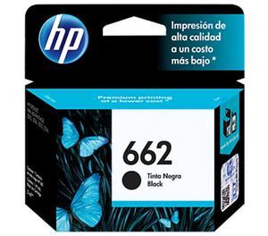 Cartuchos Hp 662 Negro Original