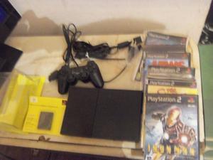 PS2, Playstation 2, lente nuevo, joystick nuevo, memoria