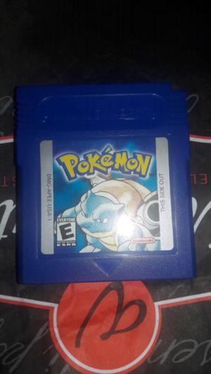 Pokemón blue version game boy original u.s.a