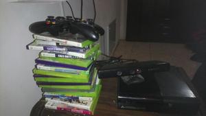 Vendo Xbox 360 Super Slim 500gb +Kinect+3 controles + 20