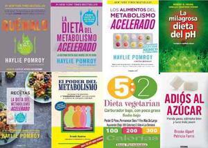 Haylie Pomroy La Dieta Del Metabolismo Acelerado X 8 Libros!
