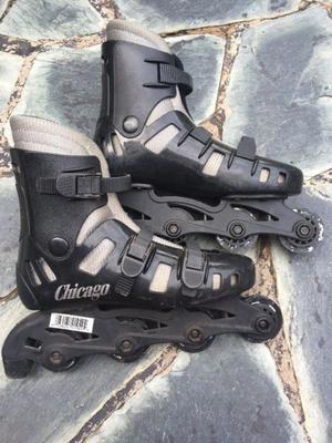 Rollers Chicago Talle 39 sin ruedas