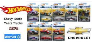 62 Chevy Chevrolet Silverado Hot Wheels Serie 8 Envio Gratis