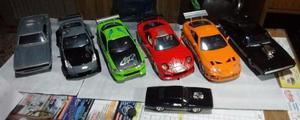 Autos De Coleccion Rapido Y Furioso Grandes 1/24 Metal