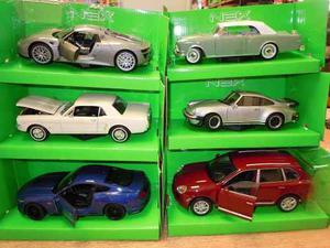 Autos Welly Escala 1-24 -modelos Nuevos Mustangs Y Otros-