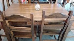 Juego de mesa y sillas