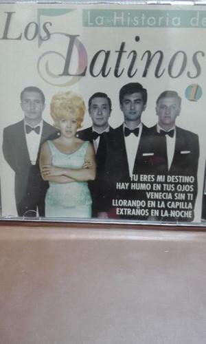 Los 5 Latinos La Historia En Cd
