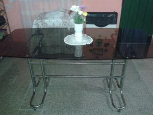 Vendo mesa de vidrio templado