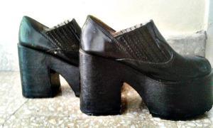Zapatos con Plataforma Talle 36