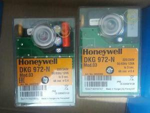 2 Programadores De Control De Llama Honeywell Dkg 972
