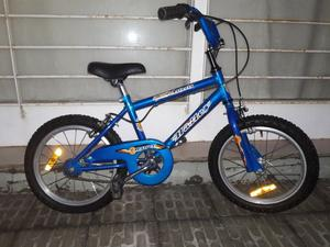 Bici NIÑO Rodado 16- IMPECABLE casi sín uso COMO NUEVA