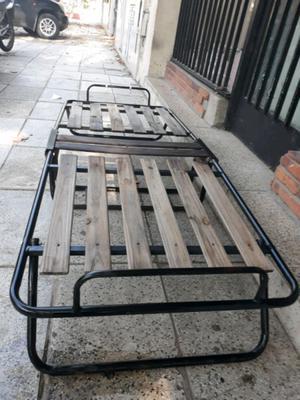 Cama Plegable 1 plaza Lista para usar $400