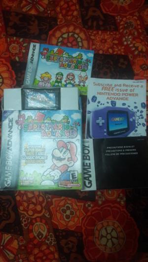 Game boy advance juego super mario advance