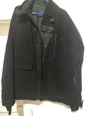 Campera impermeable reversible
