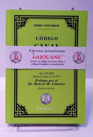 Código Civil Y Comercial. Edición Lajouane Pocket