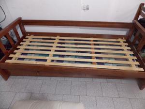 Diván cama más carrito de 1 plaza