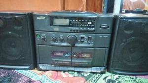 Equipo doble casetera,CD y radio SAMSUNG,Oportunidad !!