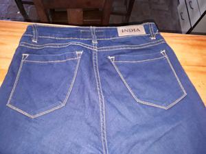 Jeans elástizado tiro alto