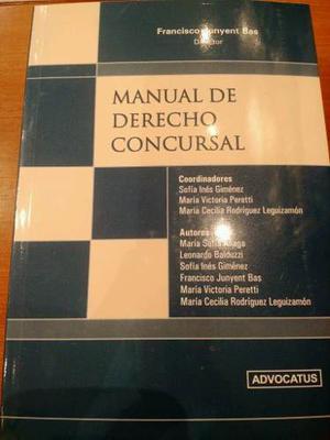 Manual De Derecho Concursal - Junyent Bas, Francisco