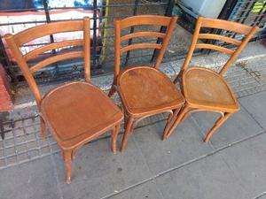 Sillas De Bar - Restaurante - Comedor Estilo Thonet 16 Und