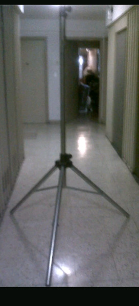 Tripode Columna Soporte De Acero Linea Pesada 3.5mts No Xpro