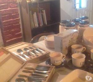 Vendo urgente combo de vajillas de cocina sin uso