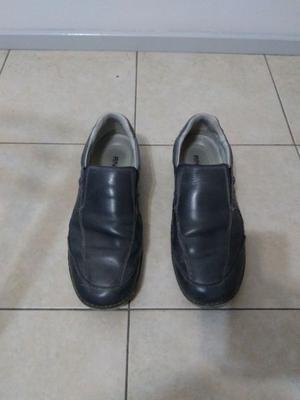 Zapatos hombre Ringo c/amort. cuero color azul informal
